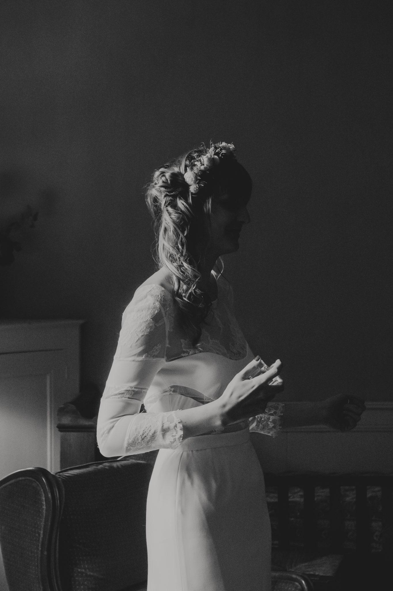 Mariée Rime Arodaky Bretagne Manoir Fresnaye