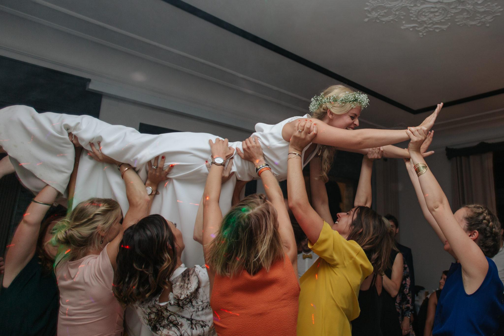 Dancefloor mariage Dirty Dancing Domaine Laumondiere Bagnoles de l'Orne