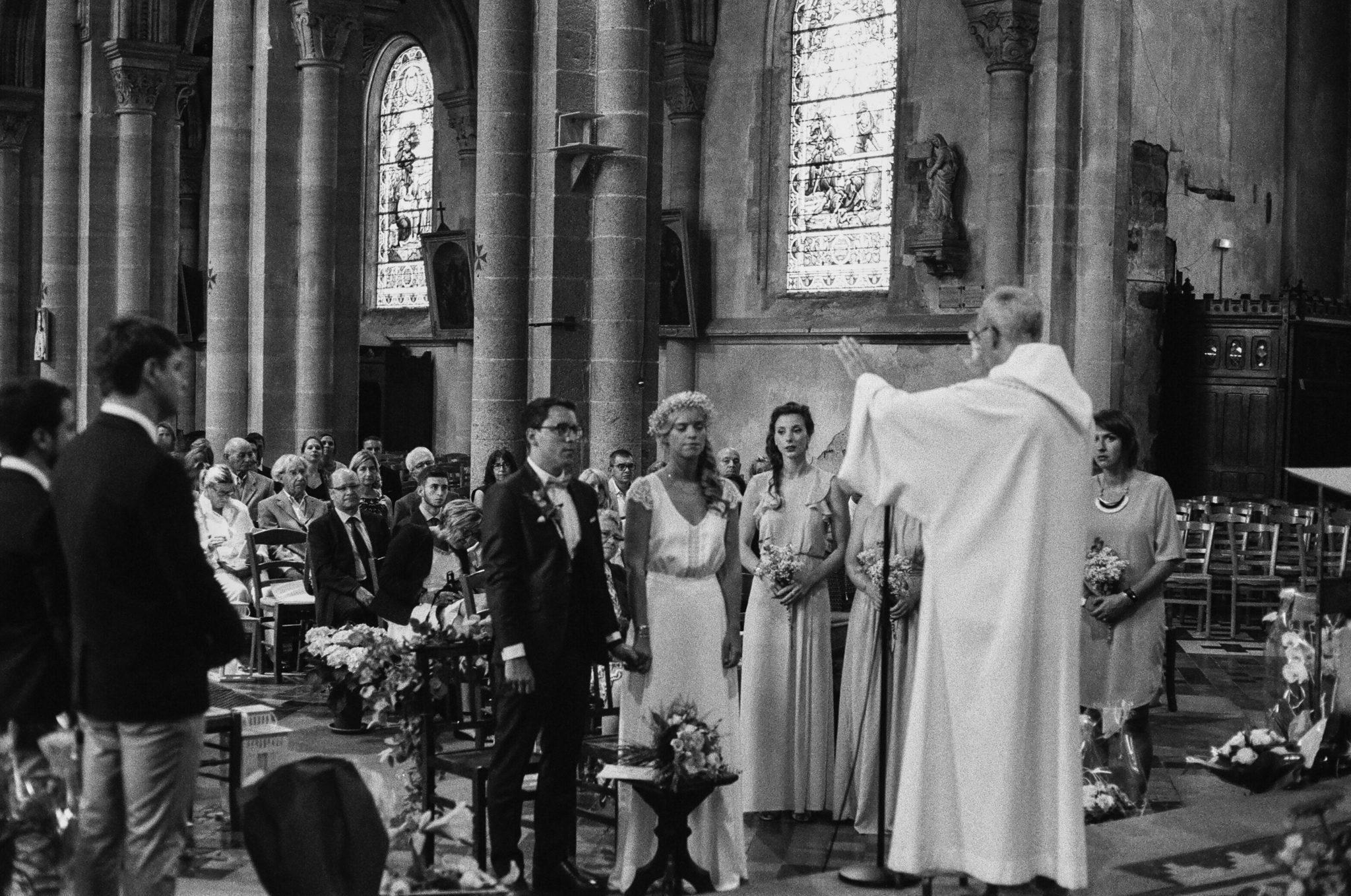 Bénédiction mariage église la ferté Macé