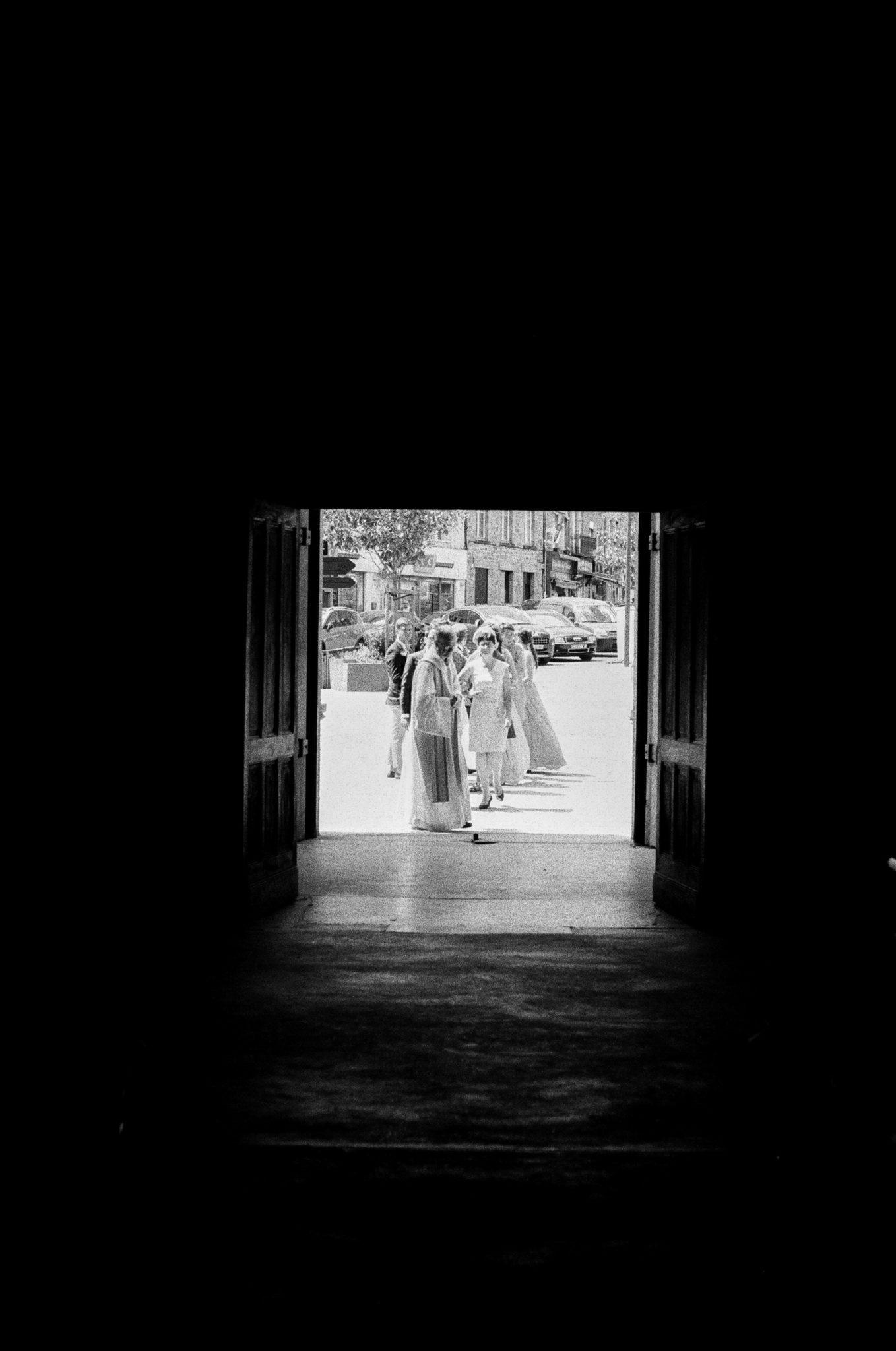 Entrée mariés cérémonie religieuse église la Ferté Macé