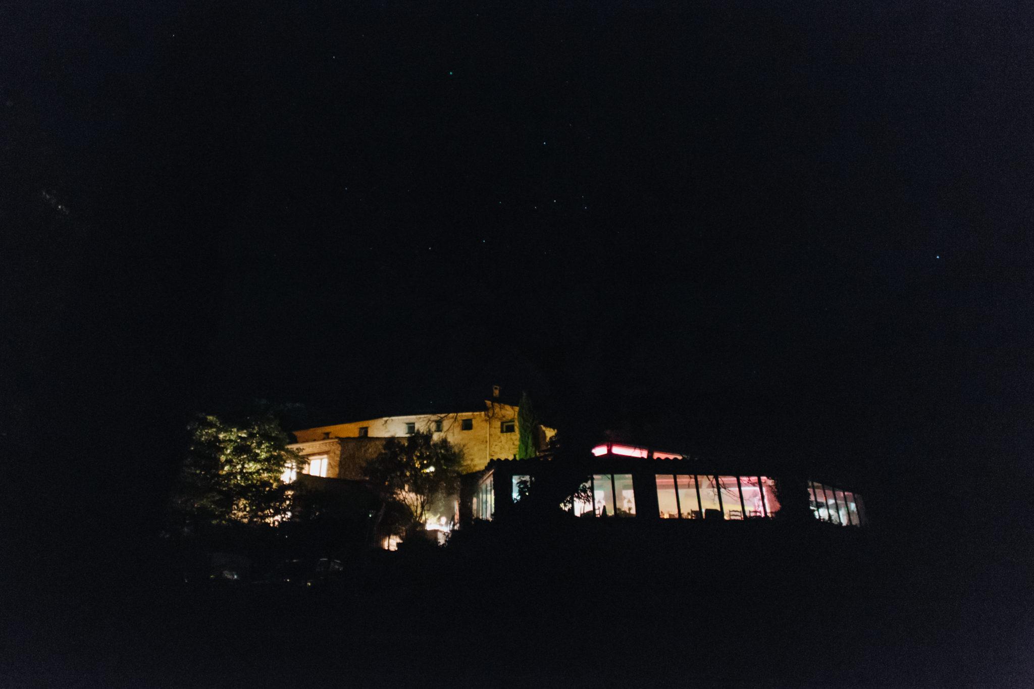 Hameau de Valouse Drôme provençale nuit étoiles