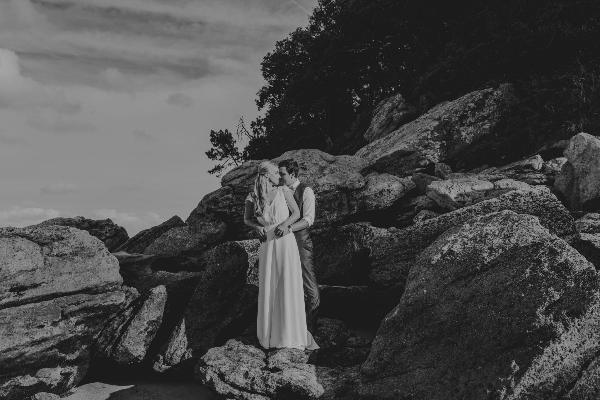 Portrait couple Noirmoutier plage des Dames