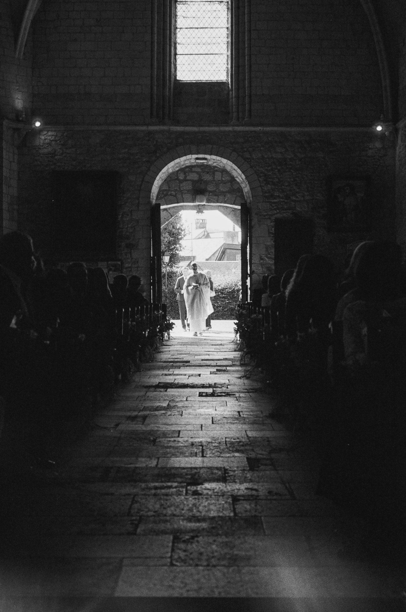 Entrée église Touques
