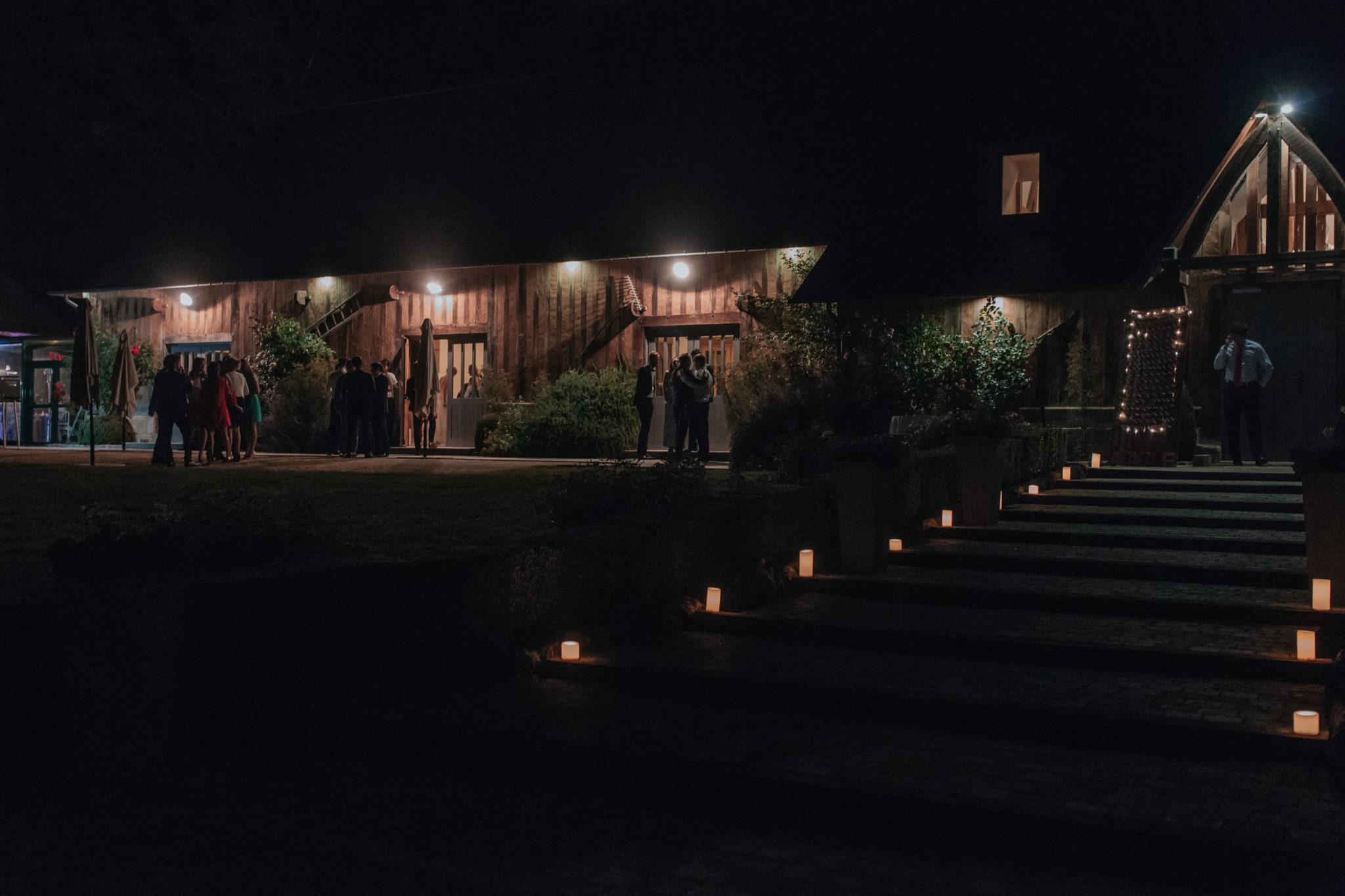 Mariage ambiance dîner Pressoir Tourgéville Trouville Deauville