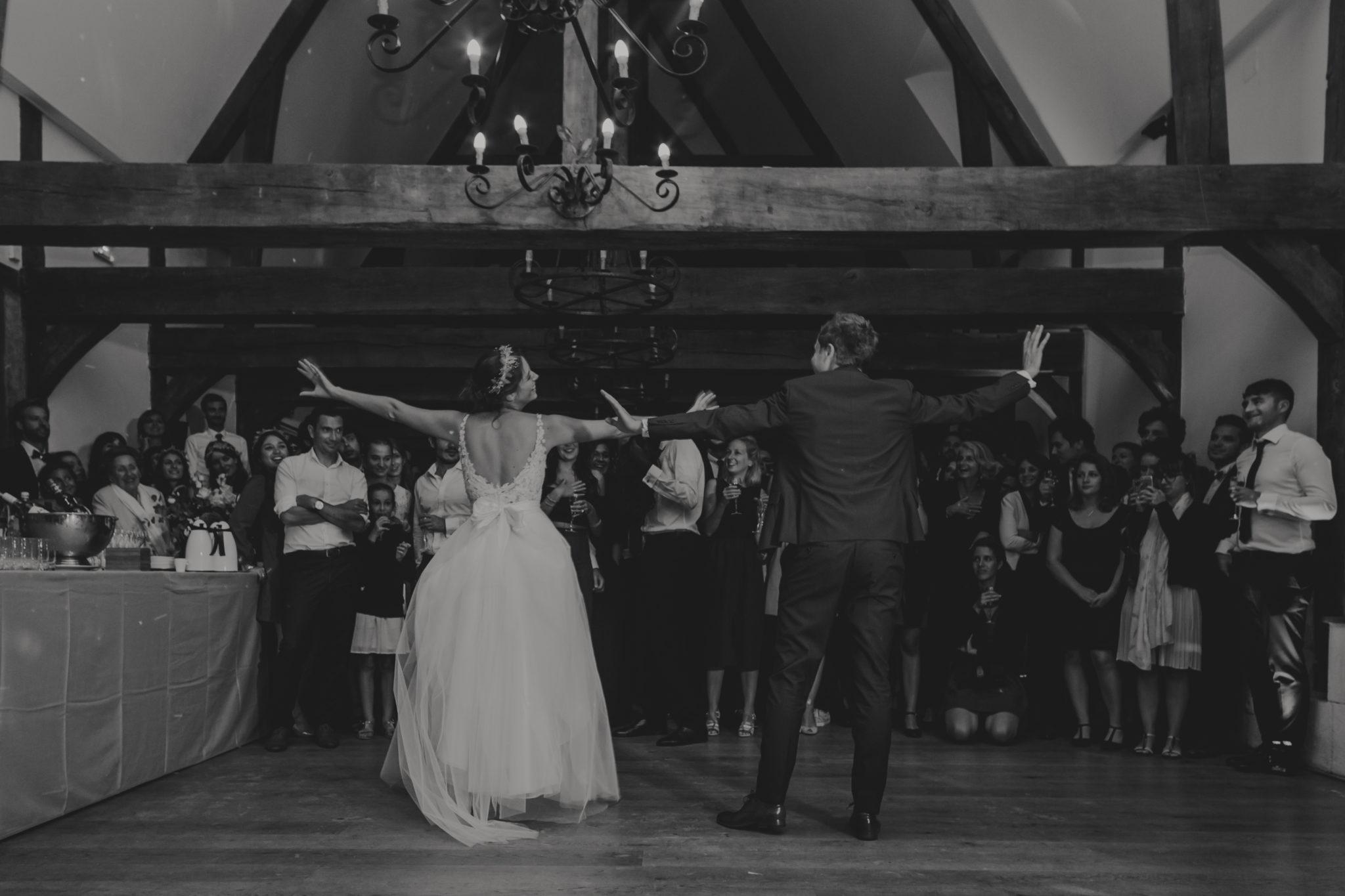 Mariage Pressoir Tourgéville première danse mariés Trouville Deauville