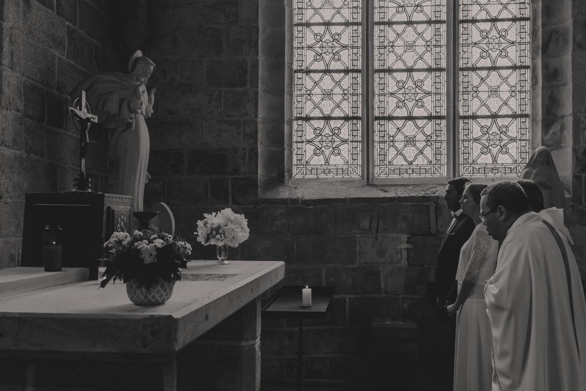Cérémonie religieuse église Saint Valéry Varengeville sur Mer