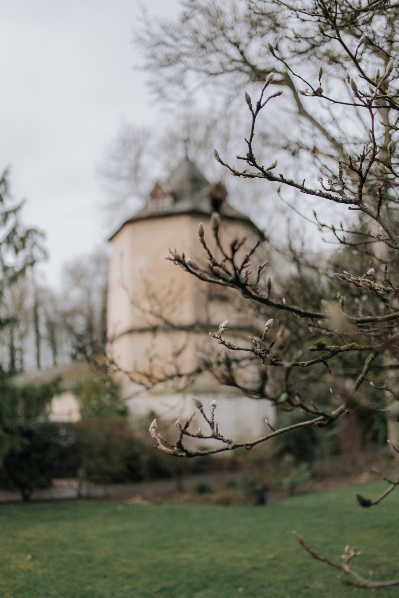 Jardin Château de Naours mariage hiver Picardie Amiens