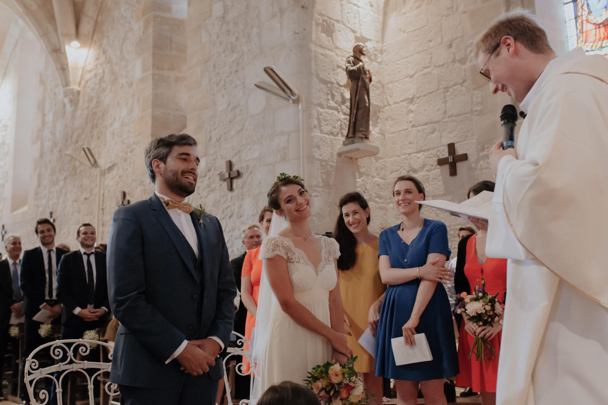 Mariés église Pessac sur Dordogne