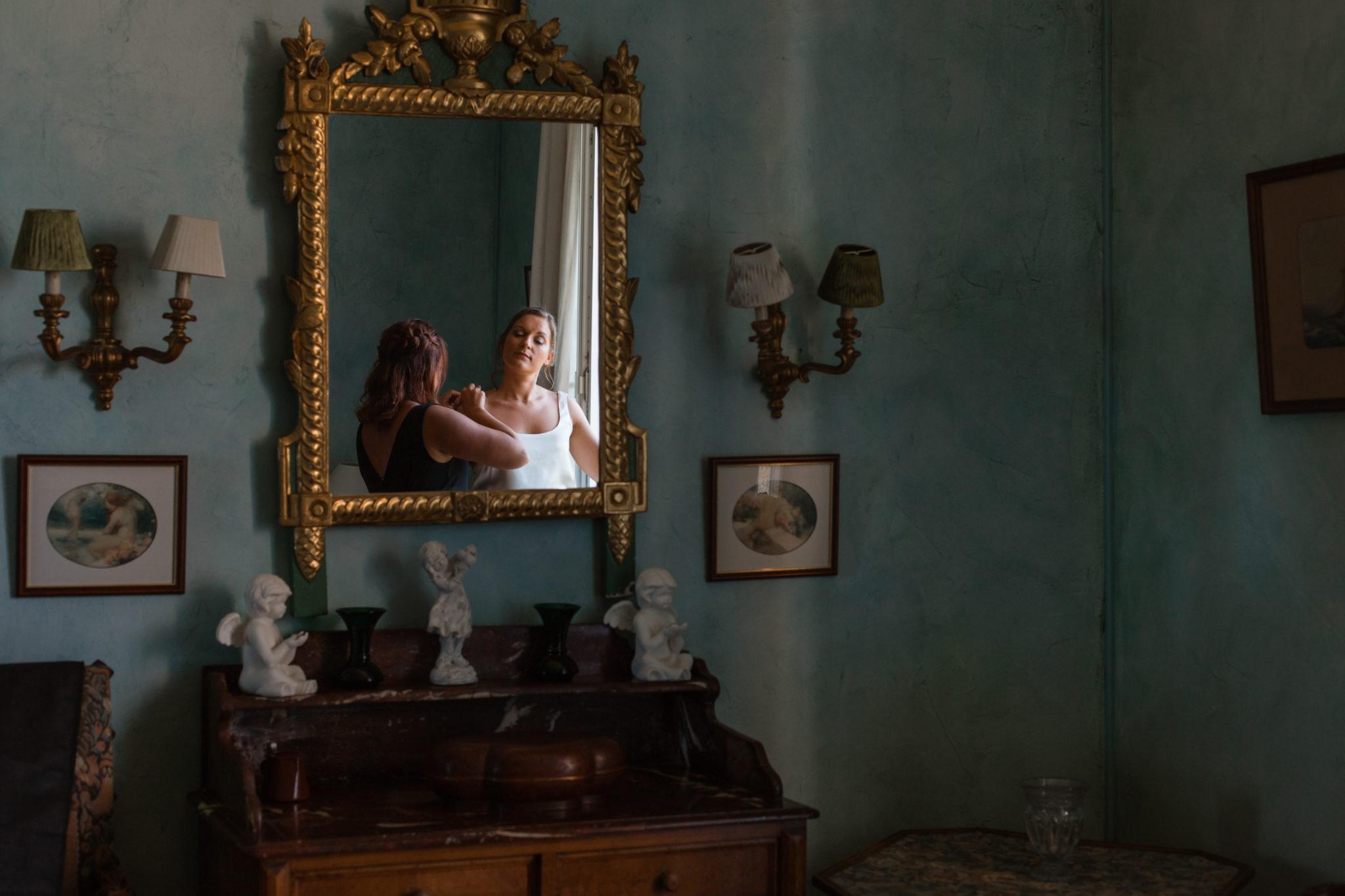 Préparatifs mariée et témoins La Baule Chateau-Saint-Marc St Nazaire Atlantique
