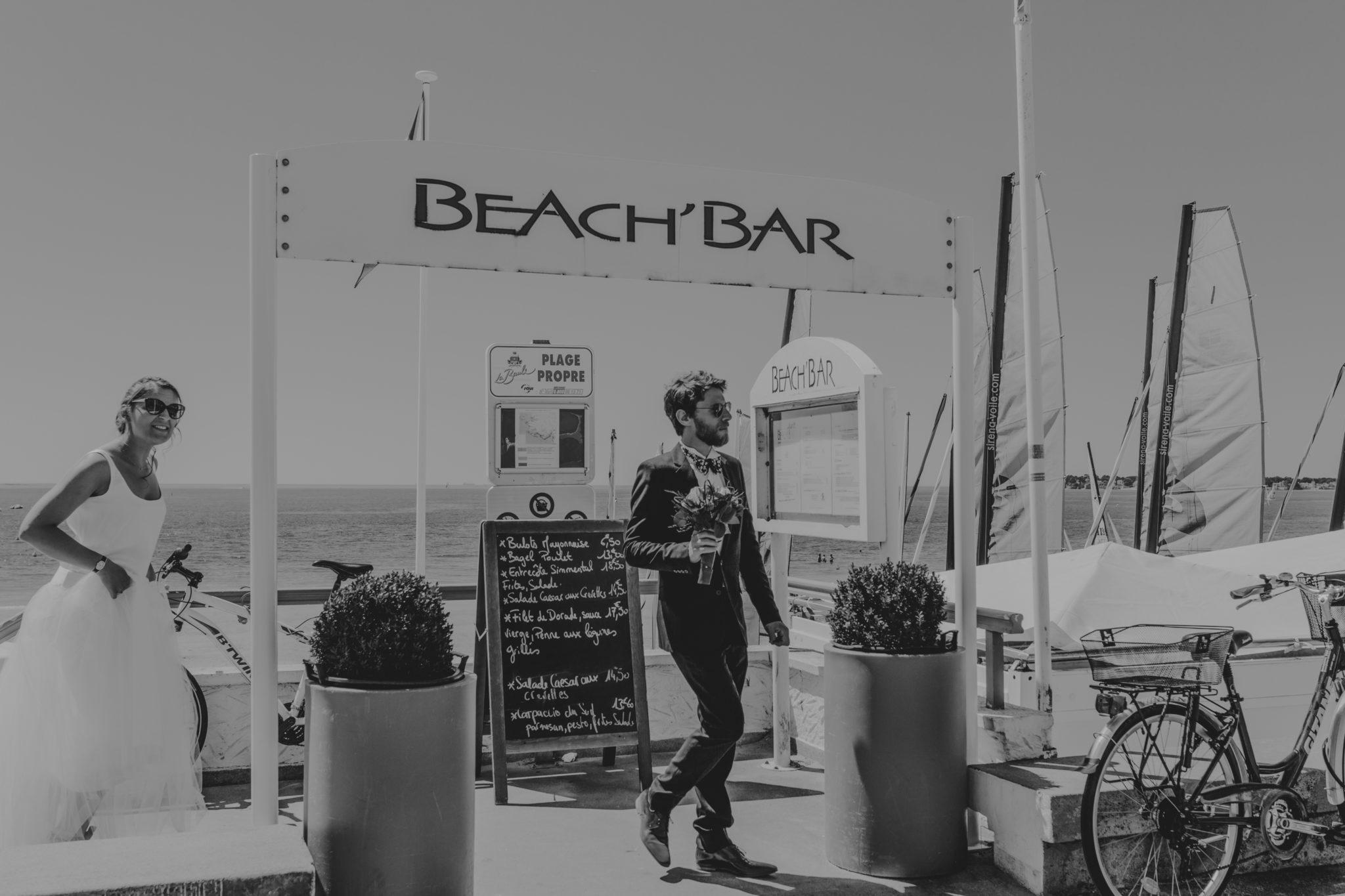 Cocktail champagne plage La Baule beach bar Chateau-Saint-Marc St Nazaire Atlantique