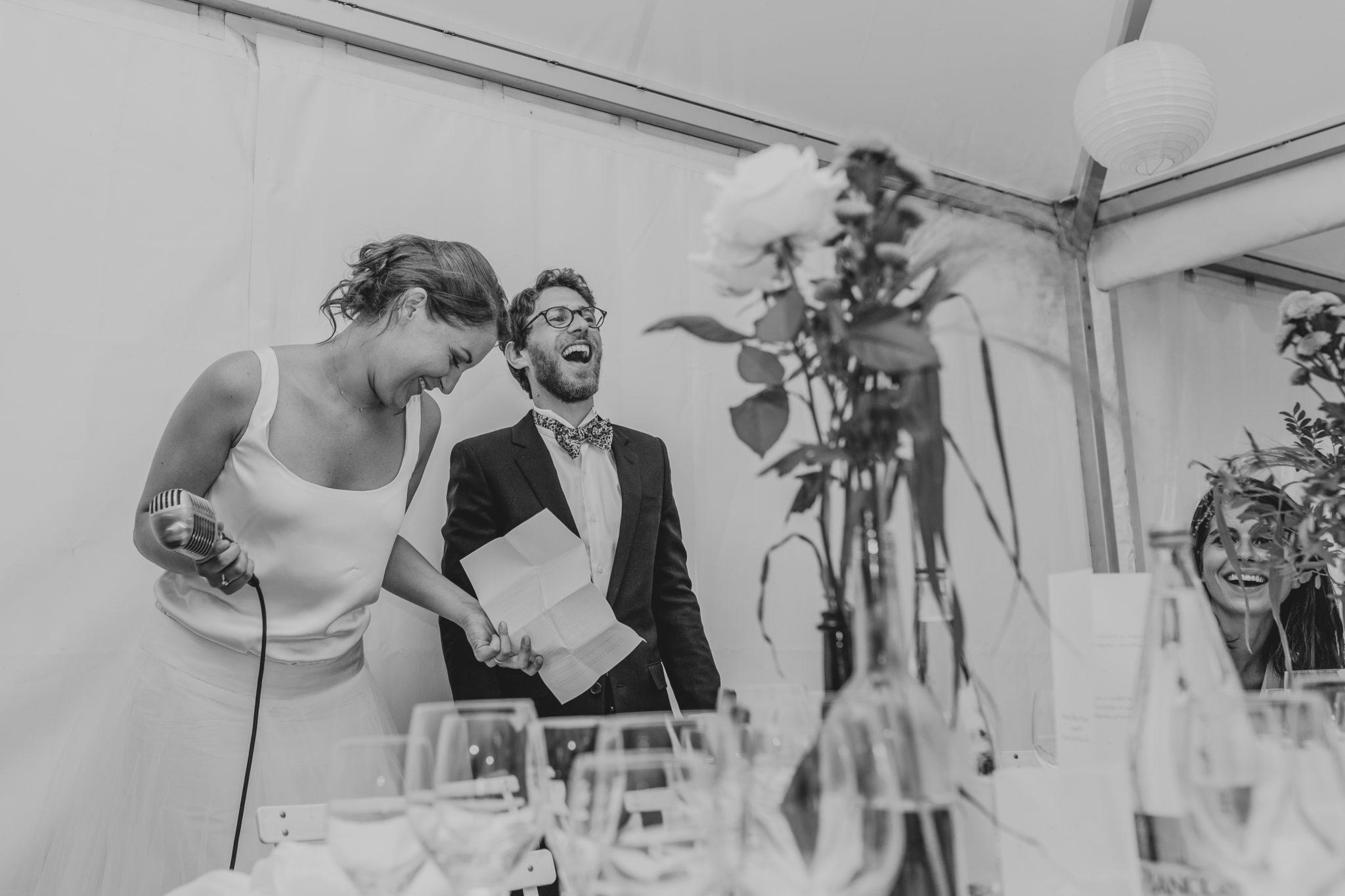 Discours des mariés dîner Chateau-Saint-Marc St Nazaire La Baule Atlantique