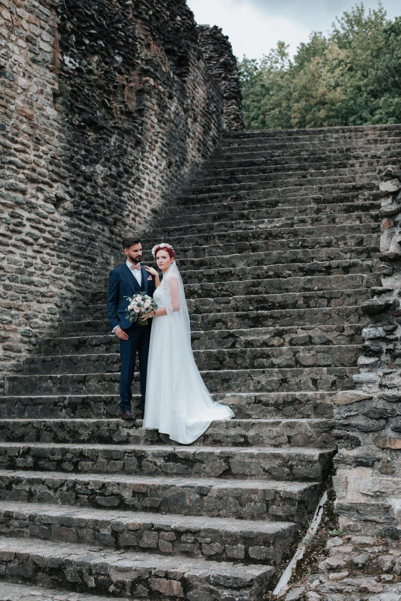 Portrait mariés Lyon fourvière arène théâtre antique