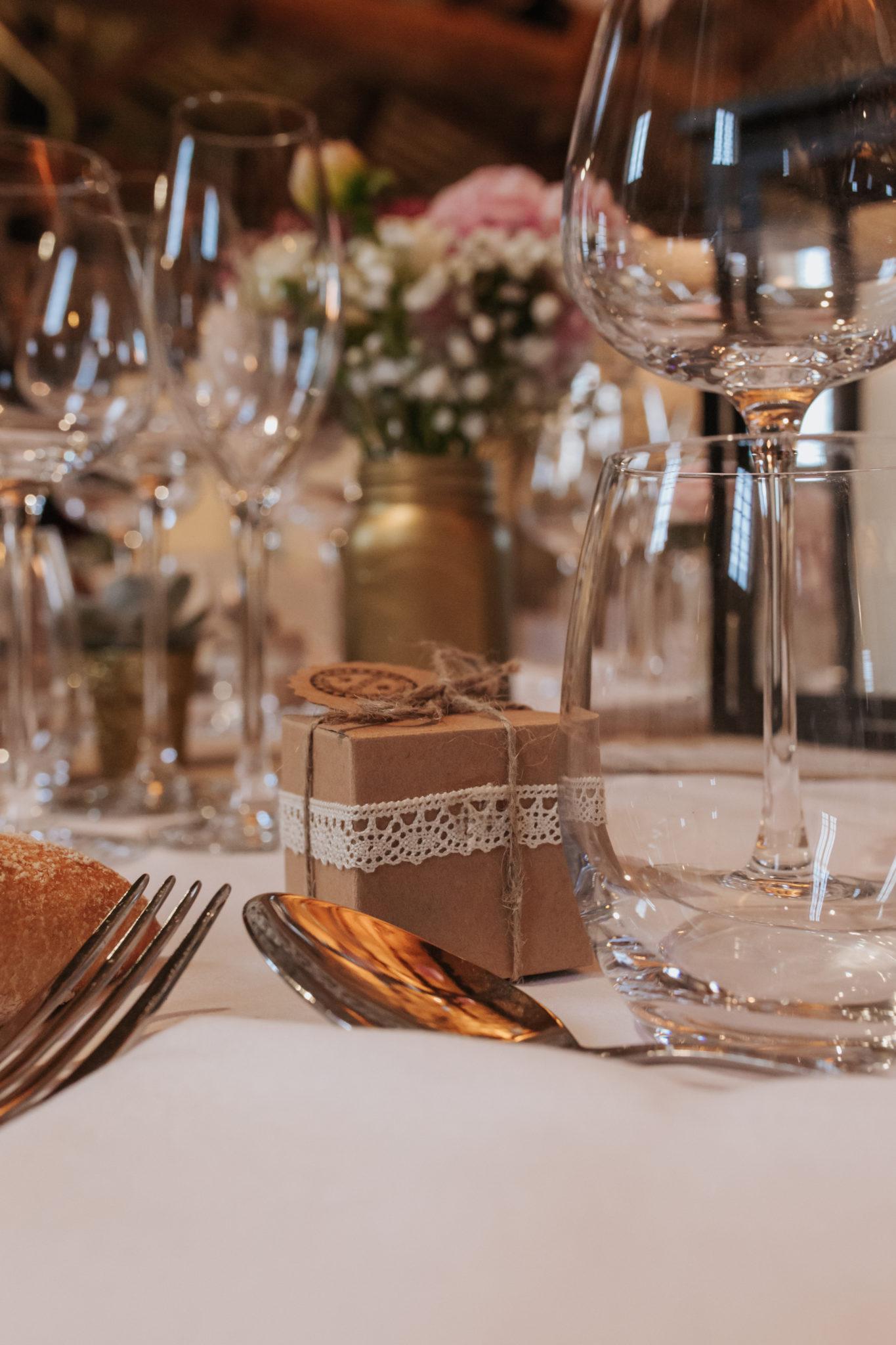 Décoration cadeau invité craft diy Domaine de l'Ordre des Compagnons du Beaujolais Lacenas