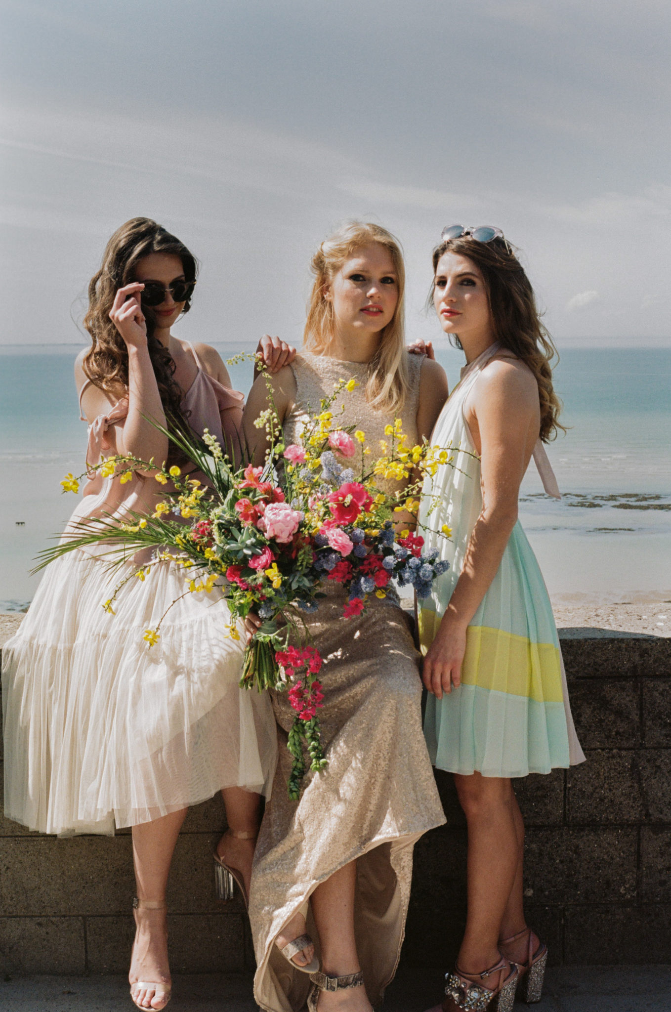 Granville Le wedding Bridesmaids robes L'amoureuse by Ingrid Fey asos lunettes Stella and Dot musée Christian Dior