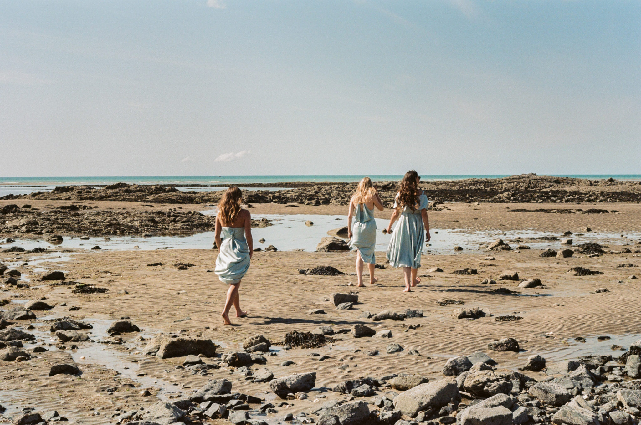 Granville Le wedding Bridesmaids robes Asos plage