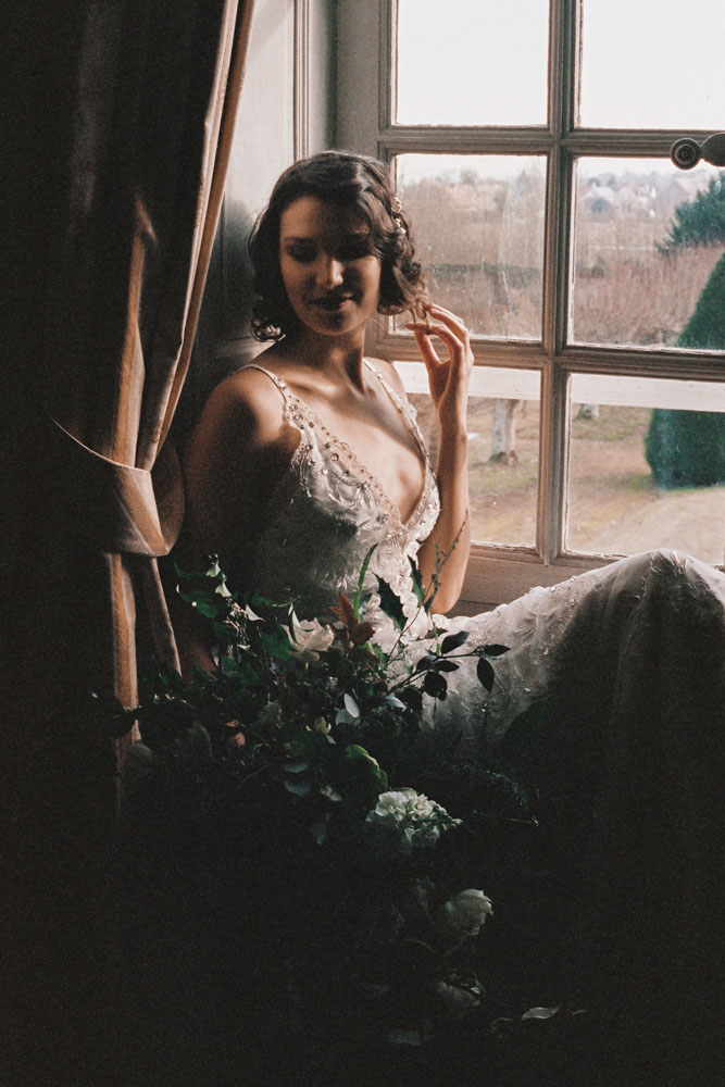 Le Mesnil d'O Le Wedding robe Jenny Packham