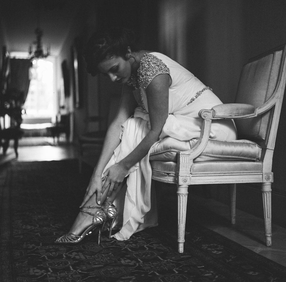 Le Mesnil d'O Le Wedding robe Jenny Packham chaussures Elle a dit oui Caen rolleiflex
