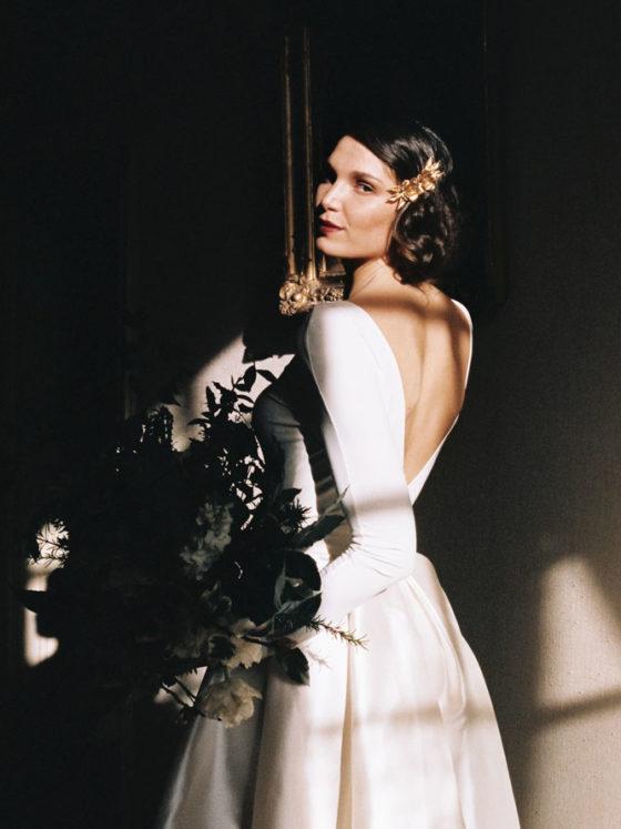 Le Mesnil d'O Le Wedding robe Leutellier tesson Barette Suzanne Cérémonie