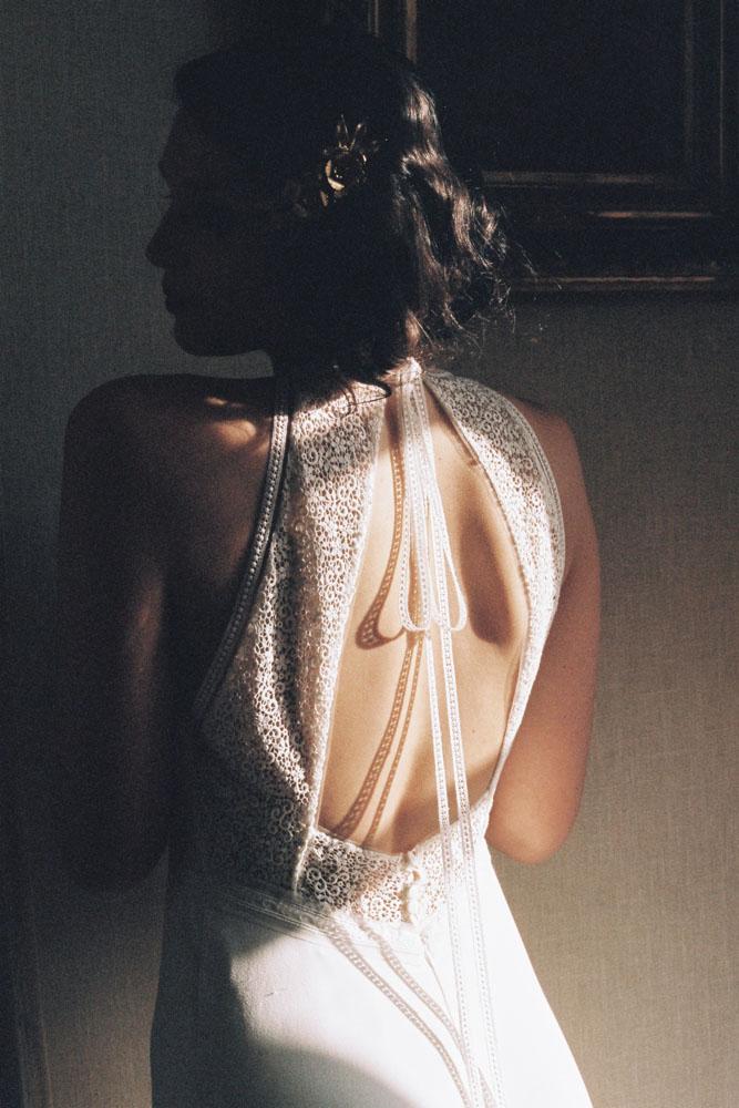 Le Mesnil d'O Le Wedding robe Amarildine Barette Suzanne Ceremony