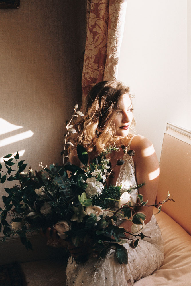 Le Mesnil d'O Le Wedding robe Jenny Packham