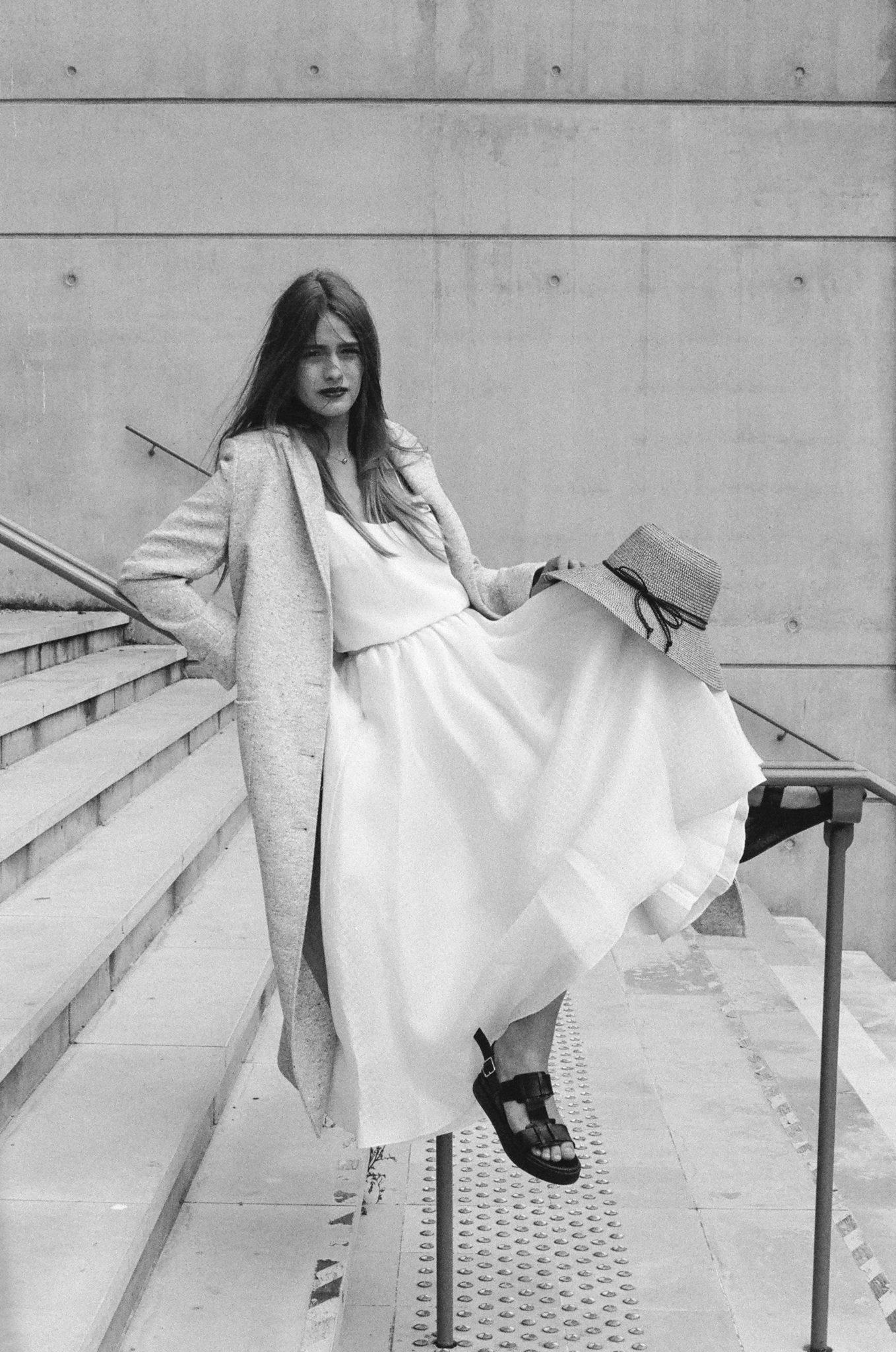 Le Wedding Urban Brides top jupe et veste Laure de Sagazan manteau Swildens Presqu'îleCaen