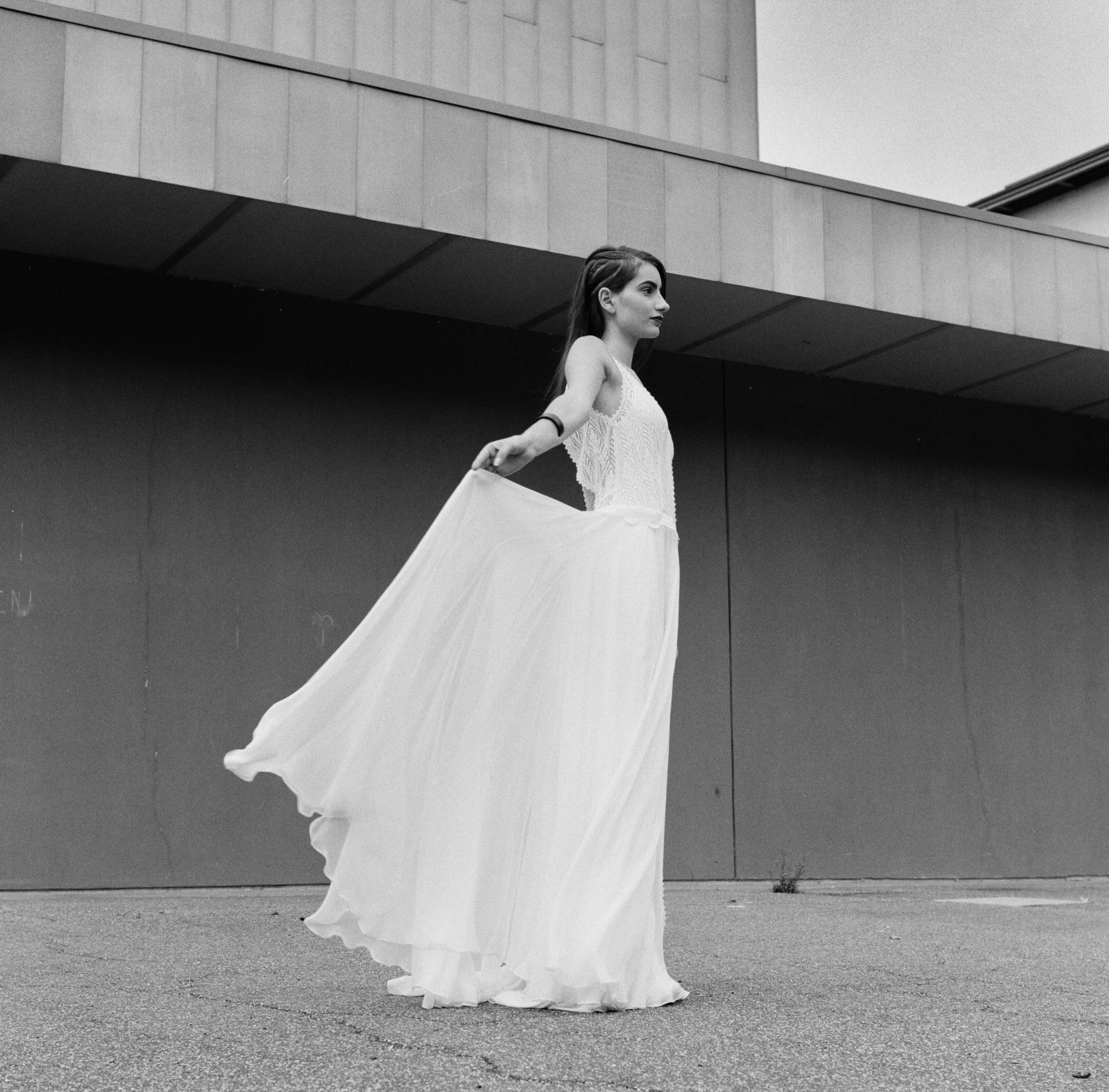 Le Wedding Urban Brides robe Amarildine bracelet Ginette NY Presqu'île le Cargo Caen