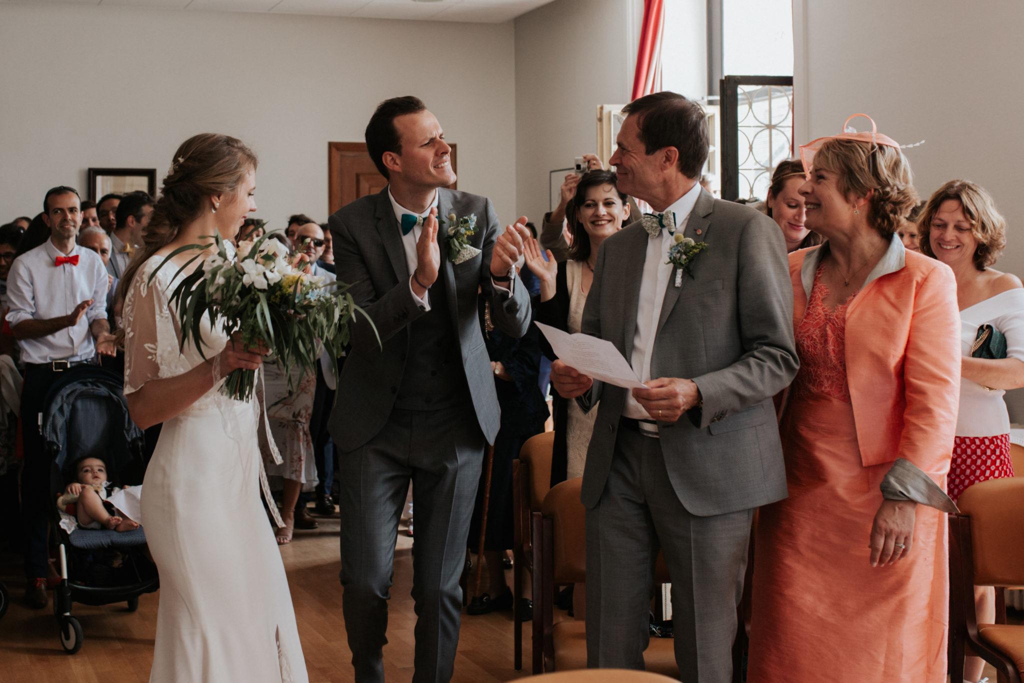 Entrée des mariés mairie de Ouistreham