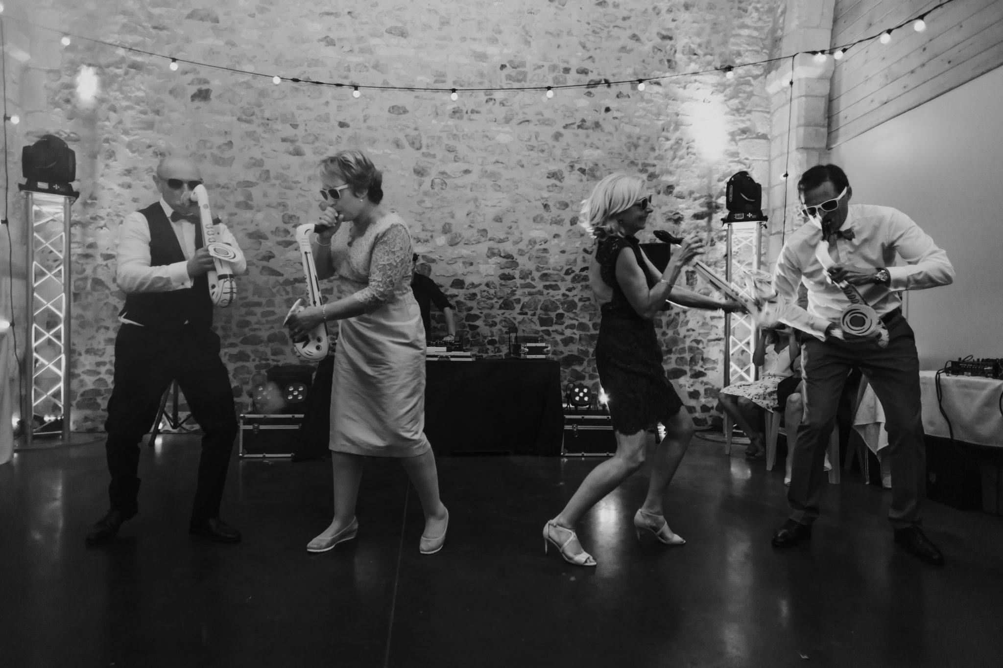 Ouverture bal parents des mariés soirée Grange d'Espins
