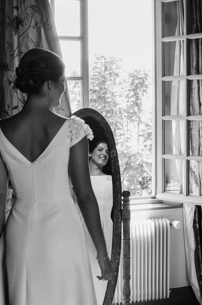 mariée miroir préparatifs manoir bleu pays auge normandie