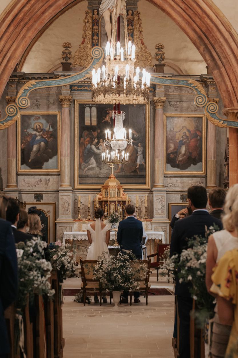 mariés église notre dame estrees pays auge normandie
