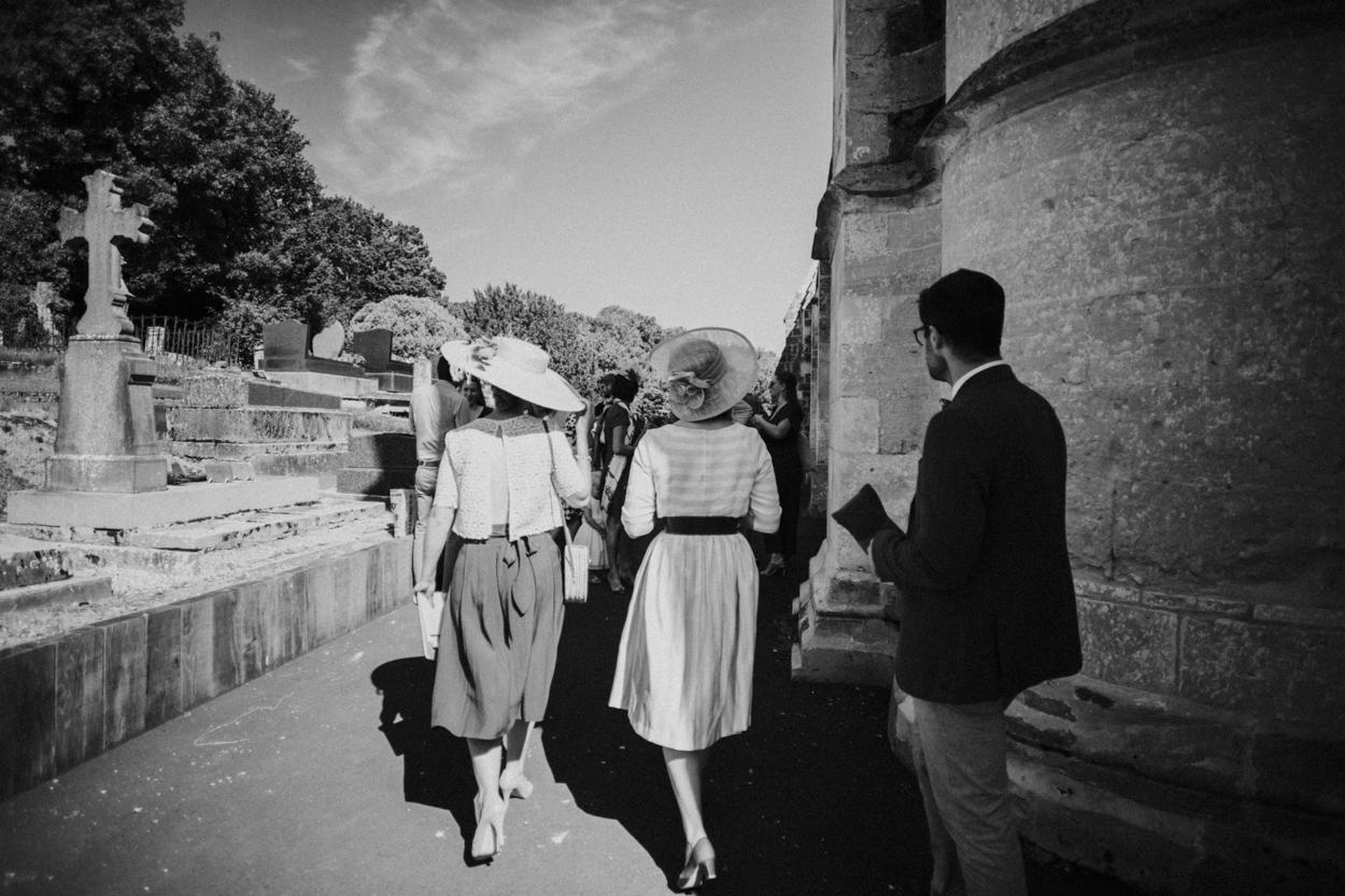 invités église notre dame estrees pays auge normandie