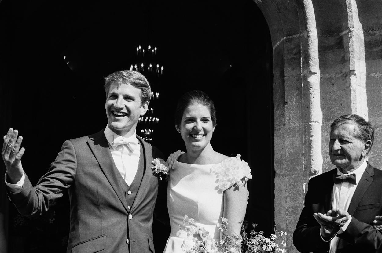 sortie mariés église notre dame estrées pays auge normandie