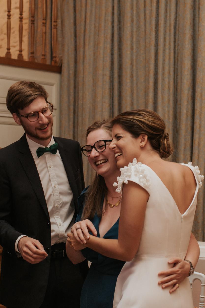 discours invités soirée mariage château de canon