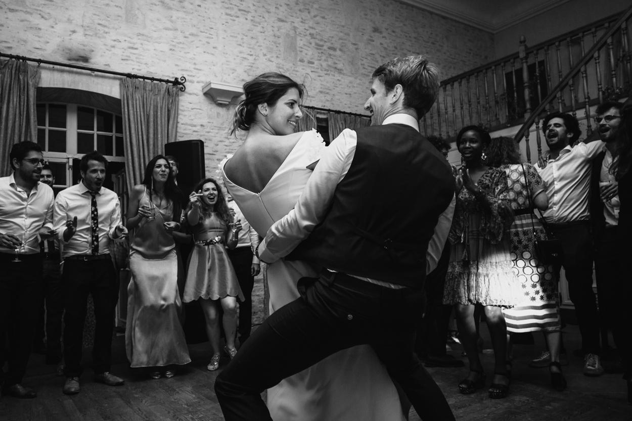 danse mariés soirée mariage château de canon