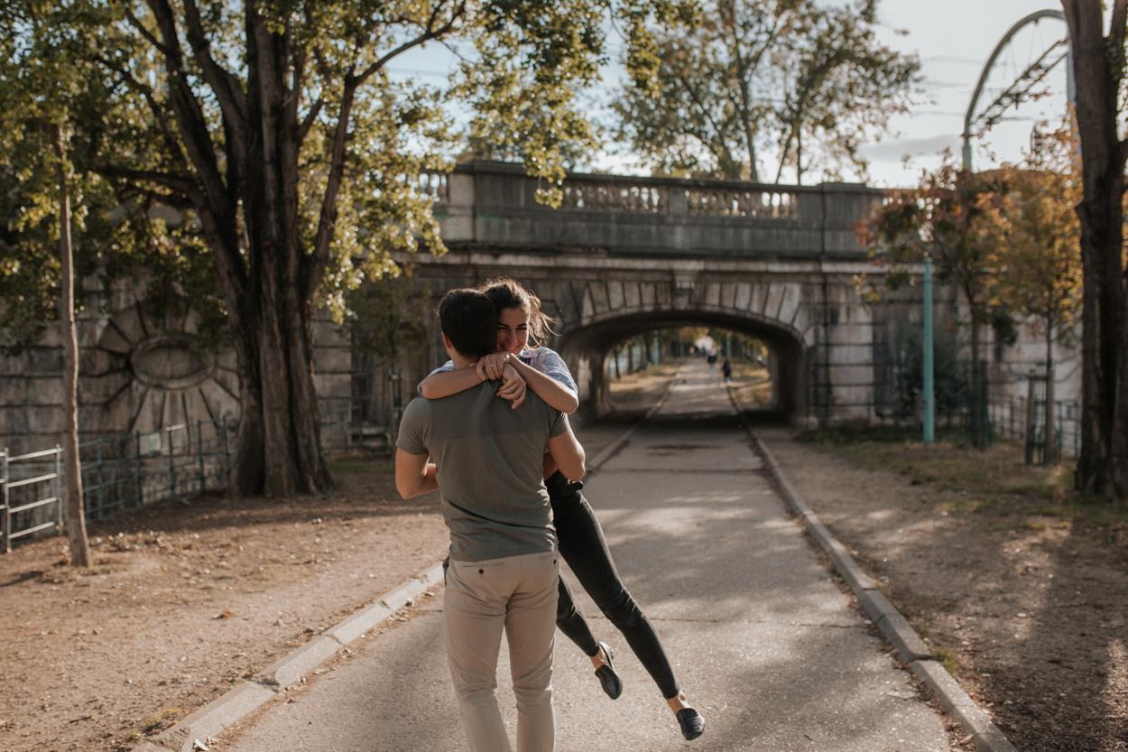 Séance engagement pont Rouelle Ile aux Cygnes Paris 15e