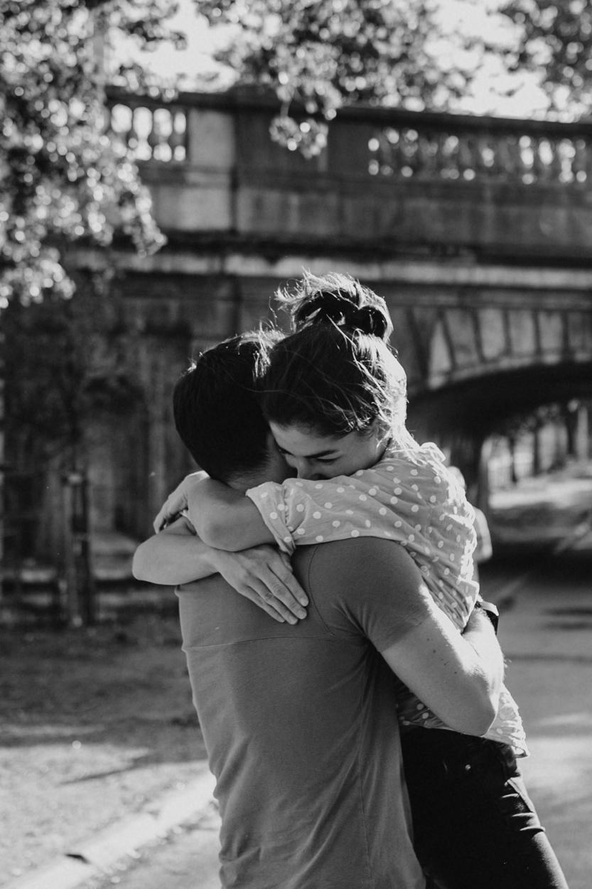 Amoureux pont Rouelle Ile aux Cygnes