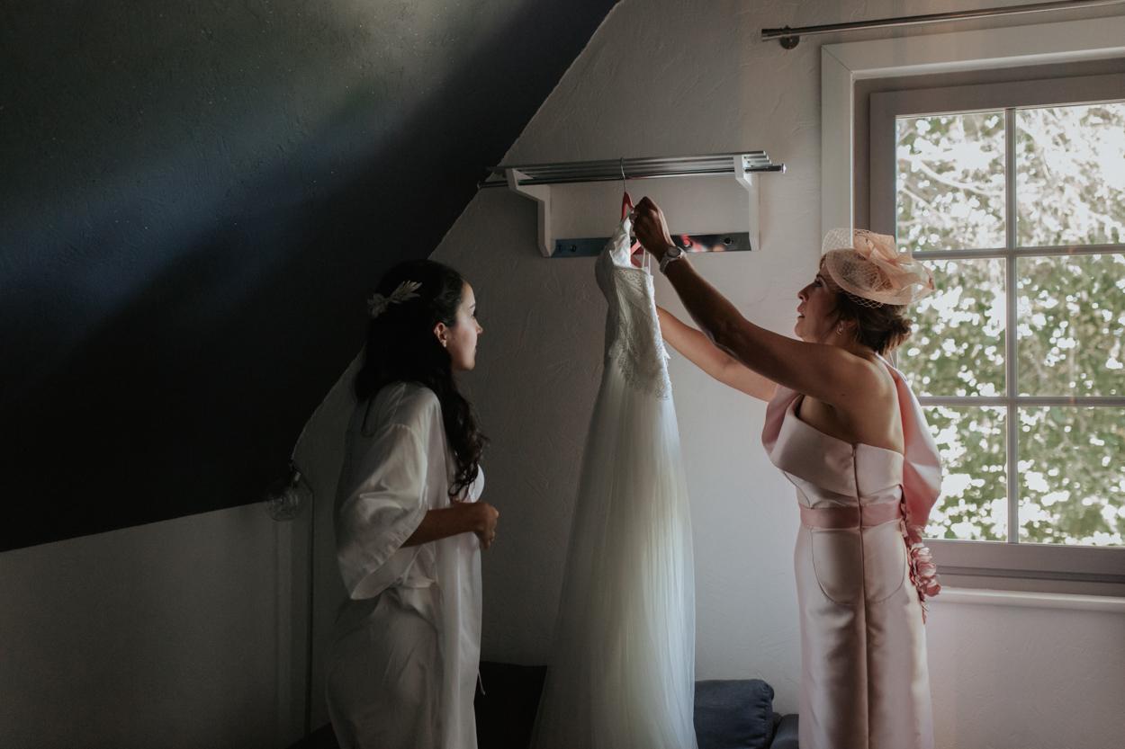 habillage mariée robe hazebrouck