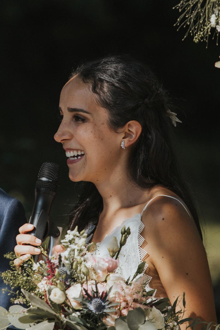 mariée cérémonie religieuse extérieure parc chateau morbecque