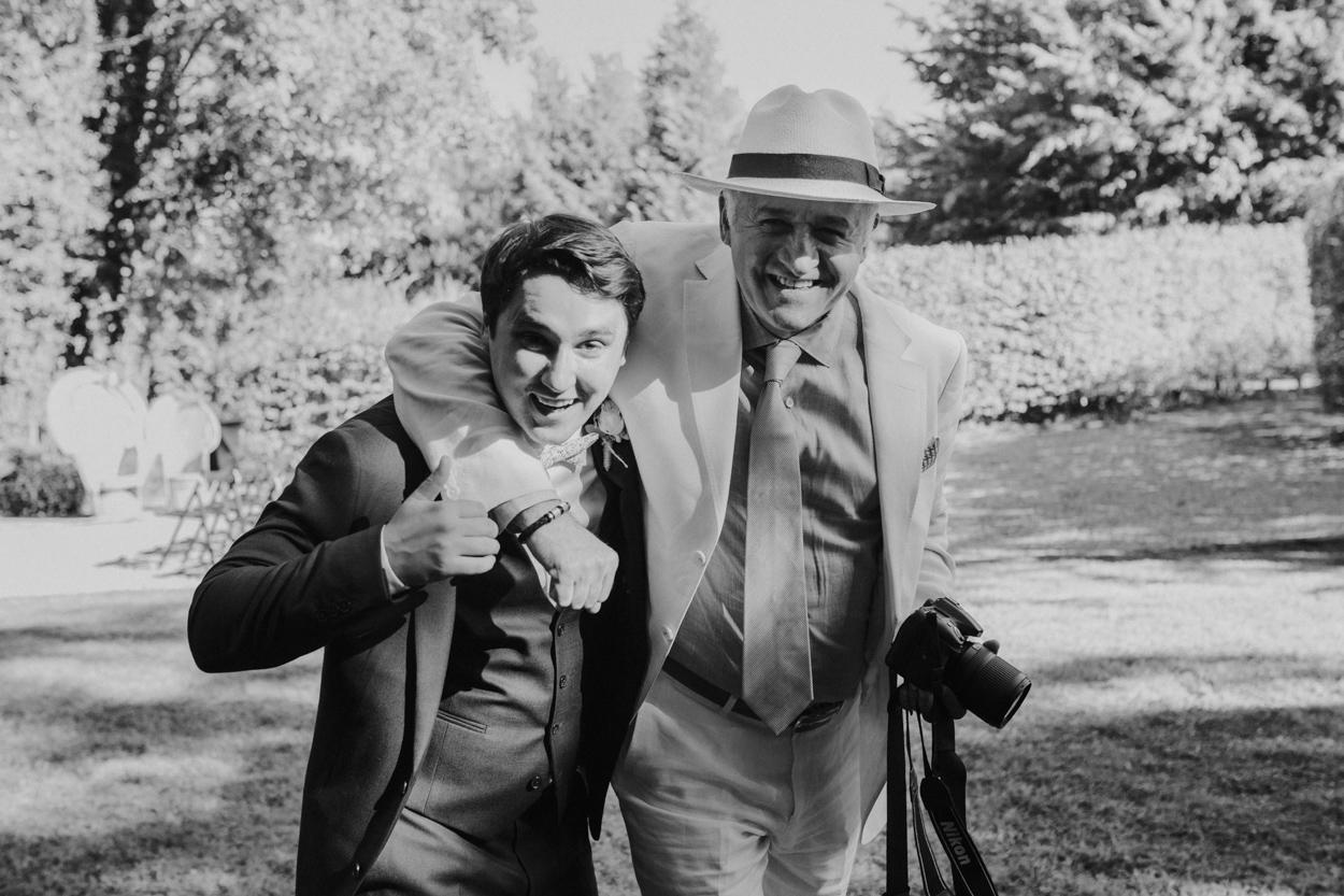 marié et père de la mariée mariage franco-mexicain