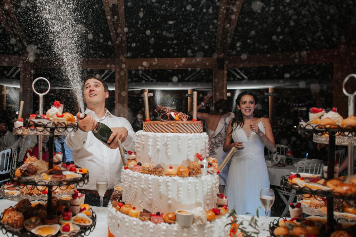 gateau champagne mariage chateau morbecque