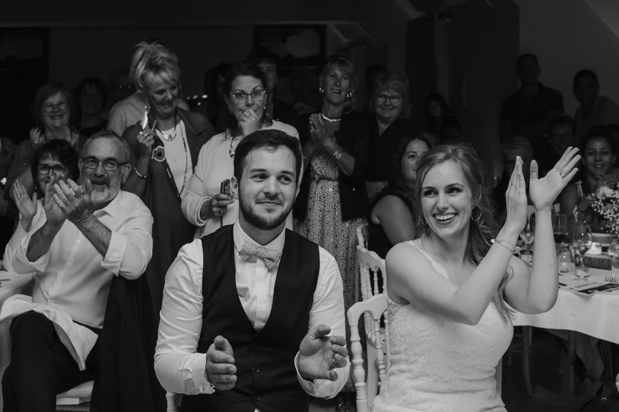 mariage soirée discours domaine laumondiere