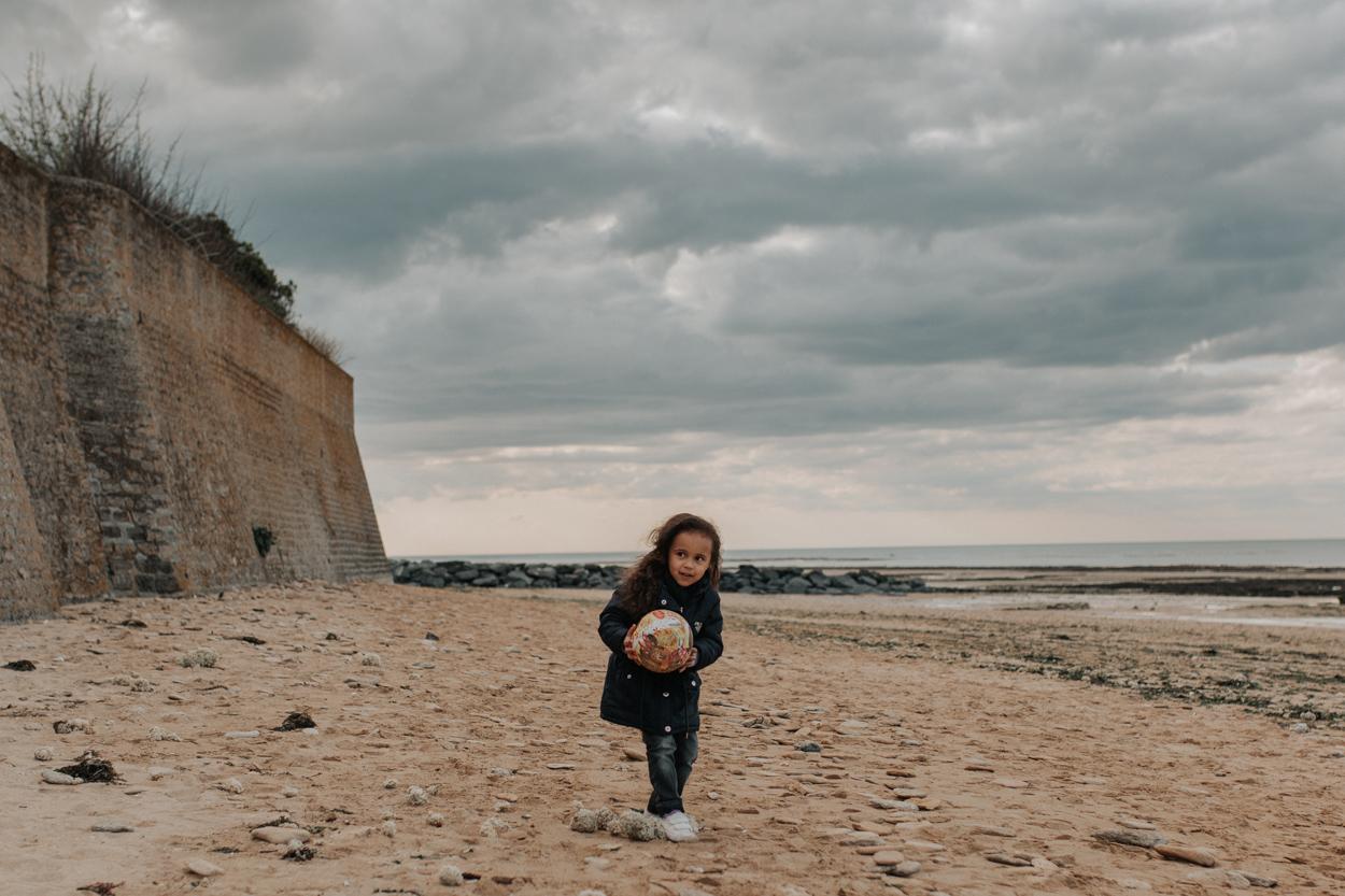 séance famille plage saint aubin sur mer
