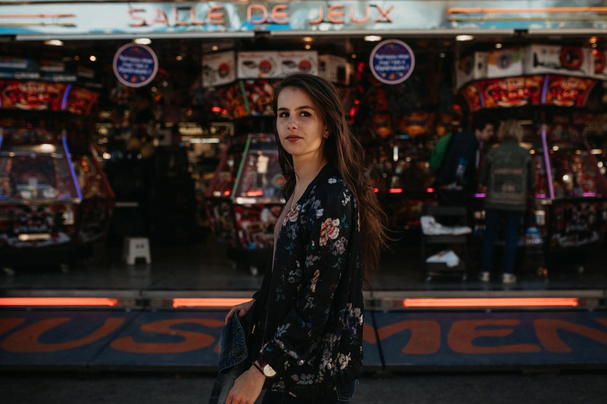 portrait femme foire pâques caen casino vegas
