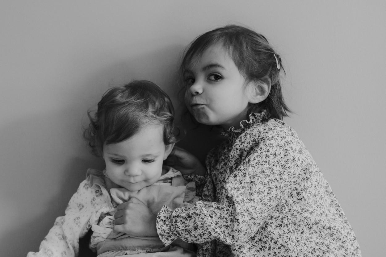portrait 2 soeurs séance famille lifestyle fontainebleau