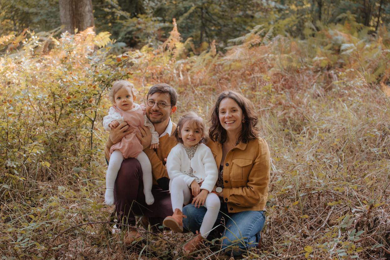 séance famille forêt fontainebleau septembre