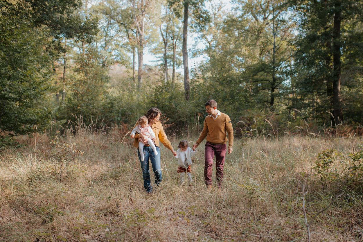séance famille forêt fontainebleau automne