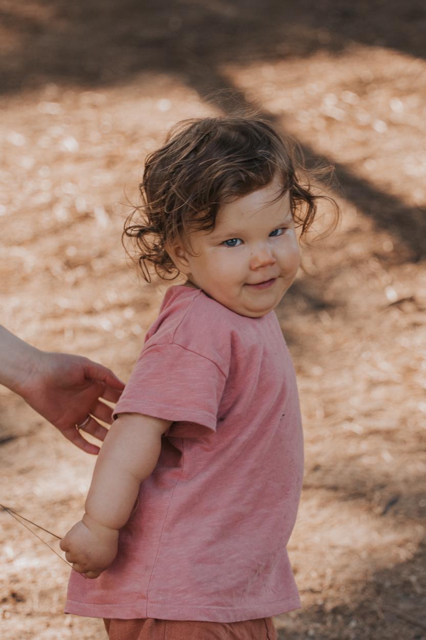portrait enfant côte granit rose trégastel